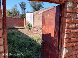 Plot 1200 square feet for  sale 8 feet k walls with gate