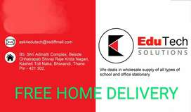 SCHOOL & OFFICE STATIONERY AT DOORSTEP