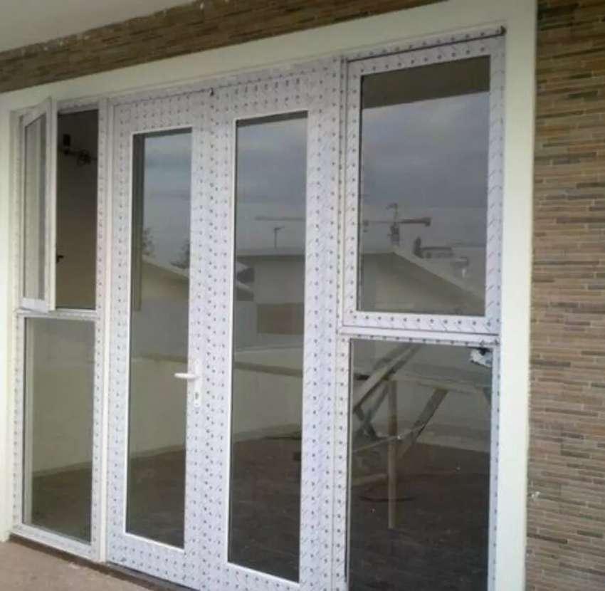 Kusen aluminium,jendela dan pintu 0