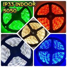 Led strip 5050 IP44 Waterproof (harga Grosir)