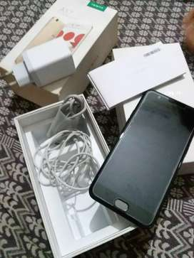 Oppo A57 black colour with all original accessories