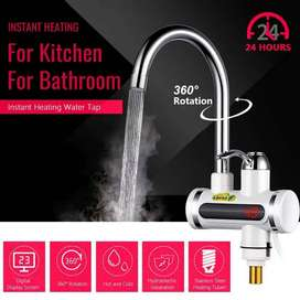 3000W 220V LED Display Electric Instant Heating Faucet Tap Hot Water K