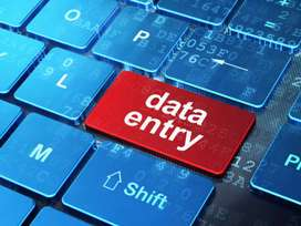 Data entry job part time work from home
