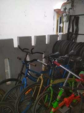 Sepeda Lipat Seken Siap Pakai
