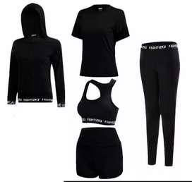 1set Pakaian Olahraga Wanita Impor L-3XL