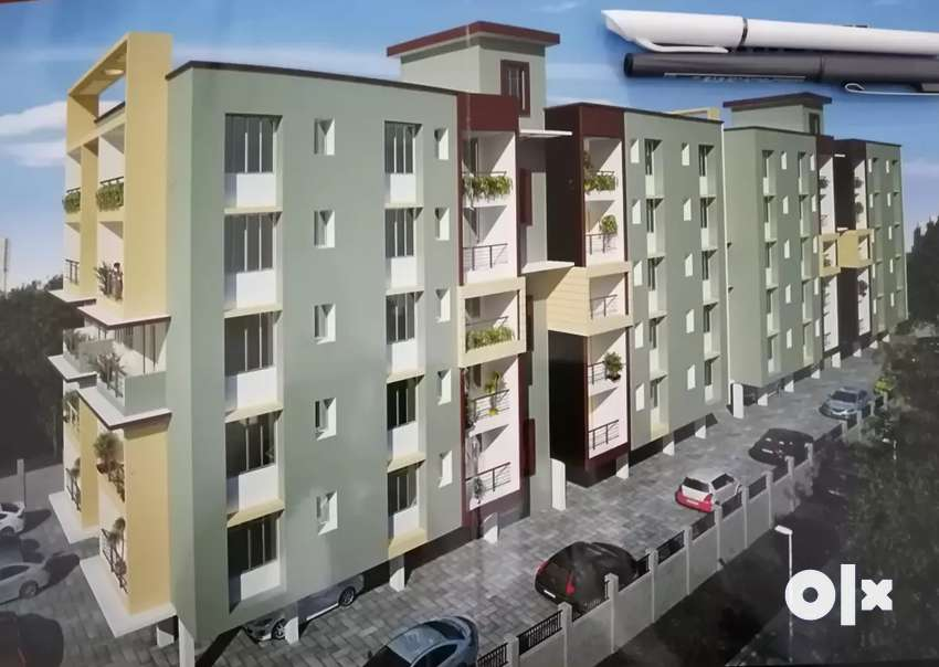 Six Mile VIP Road 3bhk brand new ready to move flat 0