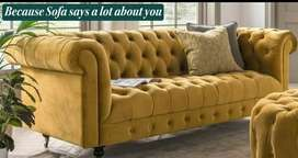 Premium Chesterfield Sofa