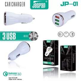 Car Charger Jaspan JP-01 3USB MANTAB