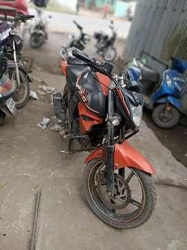 Fzs v 2.0 orange mate black colour
