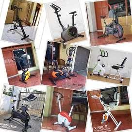 Jual Alat Fitness //Treadmill//Sepeda Statis//Home Gym di Semarang BG