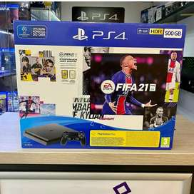 Playstation 4 gaming console with 1 year warranty