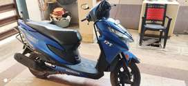 Honda grazia 135 cc.2018 end model. In good condition. Mat blue clower