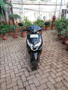 Honda Dio DX BSIV HET 110cc, black,2019, single owner self start 5 yea