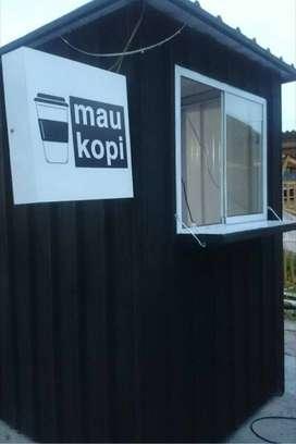 Promo Murah 2021 Booth Gerobak Semi Container Custom Yogyakarta 40