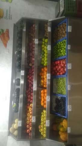 Fruits and vegetables shop for sale