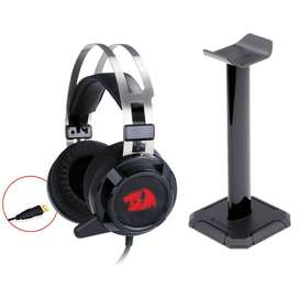 Redragon H301 SIREN2 7.1 Channel Surround Gaming Headset with stand