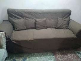 Sofa five seatter,Iron rod double bed,oven nobel company