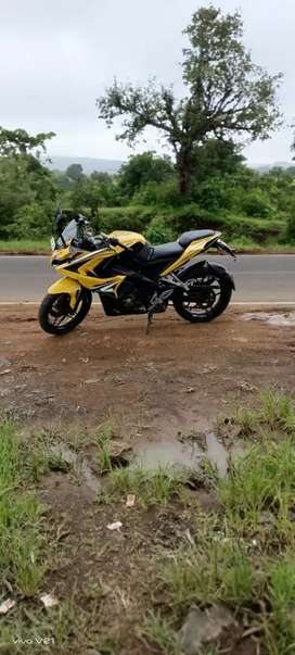Pulsar RS 200 Sporty yellow