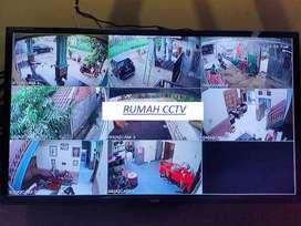 Paket 4 kamera CCTV berkhualitas baik harga menarik!