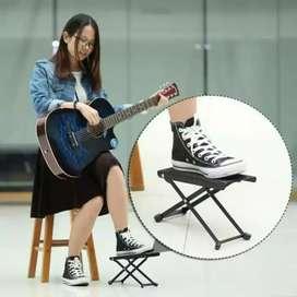 Guitar foot stool. Pijakan kaki gitar klasik