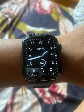 Apple watch 44mm series6 stainless steel Gps+cellular