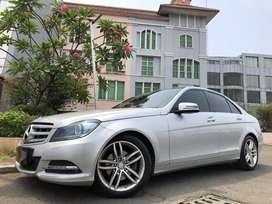 C300 Avantgarde 2012 Facelift Silver Panoramic 3.0cc V6 TDP Ringan!!