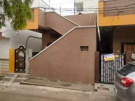 200 sq.yrds house for sale at attapur near piller no 179