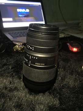 Lensa tele Sigma DG 70-300mm for Canon