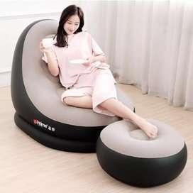 Sofa santai unik plus sandaran