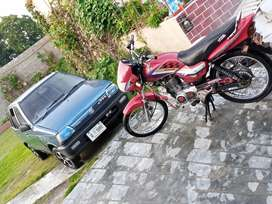 Honda Deluxe smooth ride bike for sale and exchang with YBR G