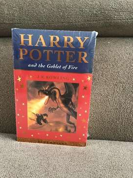 Novel Harry Potter and The Goblet of Fire by J.K.Rowling