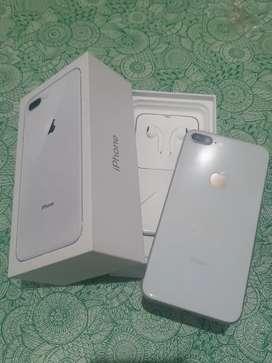 Iphone 8 plus 64gb warna Silver