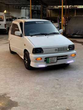 Mehran sports genuine modified Lhr reg. exchange with auto car jeep