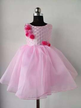 Pink & Purple .  Customised designing and stitching