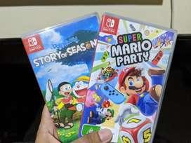 Game Nintendo Switch Doraemon Story of Seasons dan Super Mario Party