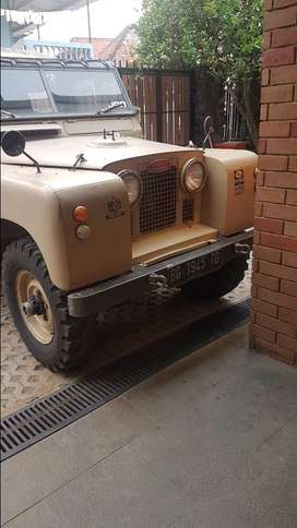 Land Rover Series 2A Army spec. 1958