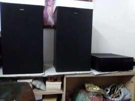 DiJual Amplifier Yamaha + 2 SPEAKER KENWOOD JAPAN Tangan 1 ORIGINAL