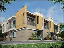 90 Gaj Corner Duplex Villa Near New Sanganer road