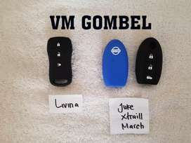 Minggu Promo karet silicon remot Nissan Livina, March, Juke, X-trail