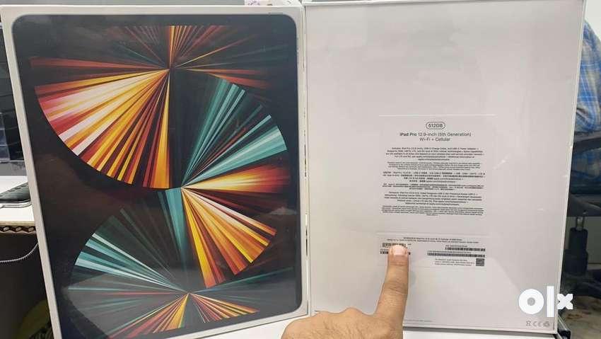 Apple ipad 2021 m1 stock 12.9 inch