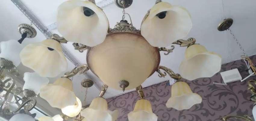 Lampu hias gantung klasik hias mimbar masjid ruang tamu teras 0