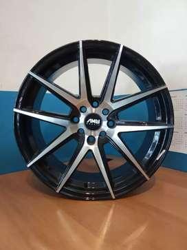 Velg racing AMW wheels mars R17*7.5 h4*100/114.3 jazz Avanza Livina