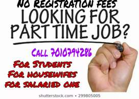 Part time job(work from home)