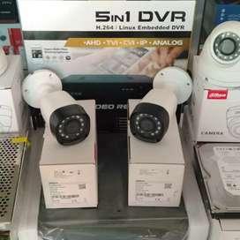 Pemasangan Paket Cctv 2 MP Full HD Lengkap