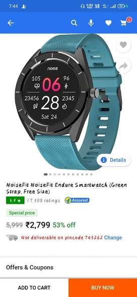 Noisefit endure smart watch
