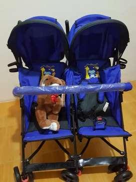 Stroller Pliko Speedy Twins