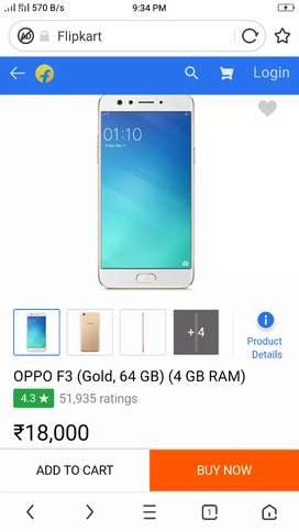 oppo f3  gold good condition