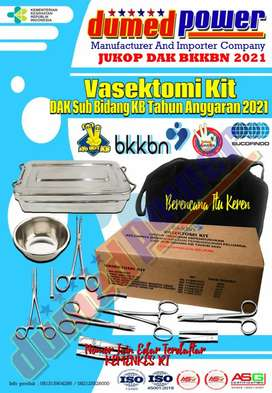 Vasektomi Tanpa Pisau (VTP) Kit - IUD Kit - Implant Kit BKKBN 2021