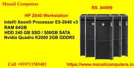 HP  Workstation Tower Workstation Available In Quantity