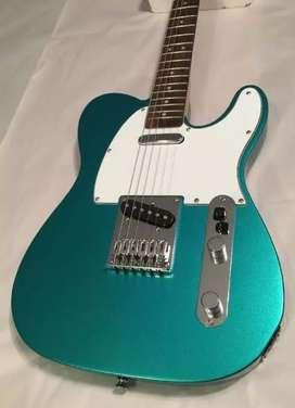 Gitar Squier telecaster mulus baru beli